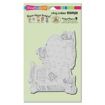 Stampendous Cling Mounted Rubber Stamps - House Mouse Designs - Bank Deposit