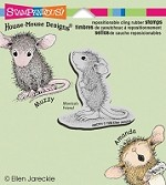 Stampendous Cling Mounted Rubber Stamps - House Mouse Hopeful Mouse