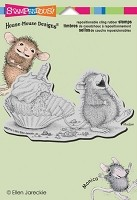 Stampendous Cling Mounted Rubber Stamps - House Mouse Cupcake Belly