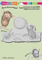 Stampendous Cling Mounted Rubber Stamps - House Mouse Beach Toss