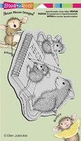 Stampendous Cling Mounted Rubber Stamps - House Mouse Practice Abc's