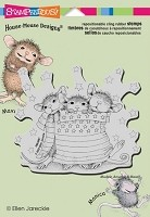 Stampendous Cling Mounted Rubber Stamps - House Mouse Star Spangled Mice