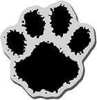 Stampendous Cling Mounted Rubber Stamp - Large Paw
