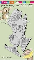 Stampendous Cling Mounted Rubber Stamps - House Mouse Designs - Berrying Gifts
