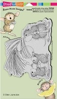 Stampendous Cling Mounted Rubber Stamps - House Mouse Designs - Deck The Halls