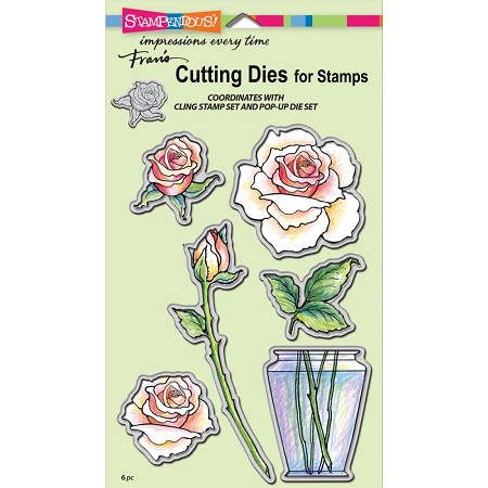 Stampendous - Cutting Die - Rose Bouquet Die Cut Set