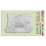 Stampendous Cling Mounted Rubber Stamps - House Mouse Designs - Mailbox Showers