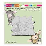 Stampendous Cling Mounted Rubber Stamps - House Mouse Designs - Confetti Fun