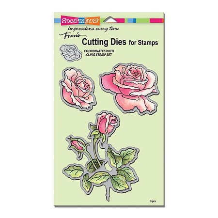 Stampendous - Cutting Die - Rose Garden Cutting Dies Set