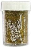 Stampendous Glitter Embossing Powders (1 oz) - Gold Tinsel
