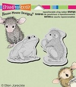 Stampendous Cling Mounted Rubber Stamp - Toadal Makeover