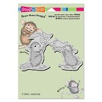 Stampendous Cling Mounted Rubber Stamps - House Mouse Designs - Smell The Roses