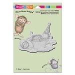 Stampendous Cling Mounted Rubber Stamps - House Mouse Designs - Cupcake Coma