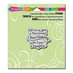 Stampendous Cling Mounted Rubber Stamps - Overflowing Wishes