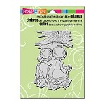 Stampendous Cling Mounted Rubber Stamps - Shepherd Watch