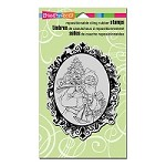 Stampendous Cling Mounted Rubber Stamps - Classic Santa