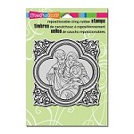 Stampendous Cling Mounted Rubber Stamps - Framed Family