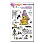 Stampendous Perfectly Clear Stamp - Spooky House