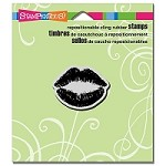 Stampendous - Cling Mounted Rubber Stamp - Kiss