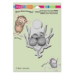 Stampendous - Cling Mounted Rubber Stamp - House Mouse Tails Entwined
