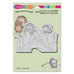 Stampendous - Cling Mounted Rubber Stamp - House Mouse Be Mine