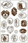 Darcie's Cling Mounted Rubber Stamp - Simply Charmed