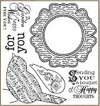 Darcie's Cling Mounted Rubber Stamps - Garden Bird