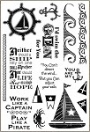 Darcie's Cling Mounted Rubber Stamps - Adjust your Sails