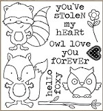 Darcie's Cling Mounted Rubber Stamps - Stolen My Heart