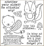 Darcie's Cling Mounted Rubber Stamps - Little Stinker