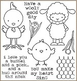 Darcie's Cling Mounted Rubber Stamps - Wooly Good