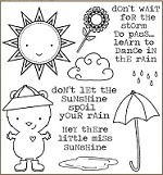 Darcie's Cling Mounted Rubber Stamps - Beary Sunny