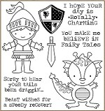Darcie's Cling Mounted Rubber Stamps - Prince Charming