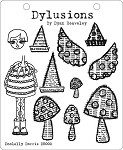 Dylusions-Rubber Stamp-Doolally Dorris