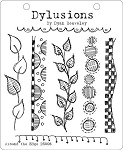 Dylusions - Cling Rubber Stamps - Around the Edge