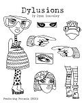 Dylusions-Rubber Stamp-Pondering Petunia