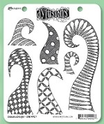 Dylusions - Cling Rubber Stamps - Doodled Delight