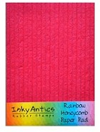 "Inky Antics - Honey Pop - Rainbow 5"" x 7"" Honeycomb Honeypop Paper Pad"