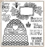 Darcie's Cling Mounted Rubber Stamps - Where My Honey Is