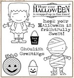 Darcie's Cling Mounted Rubber Stamps - Ghoulish Greetings