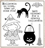 Darcie's Cling Mounted Rubber Stamps - Best Witches