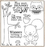 Darcie's Cling Mounted Rubber Stamps - Nuts About You