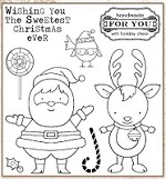 Darcie's Cling Mounted Rubber Stamps - Sweetest Christmas