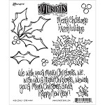 Dylusions - Cling Rubber Stamps - Holly Days