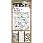 Stamper's Anonymous / Tim Holtz - Mini Layering Stencils - Set #6