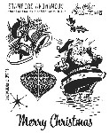 Tim Holtz-Cling Rubber Stamp Set-Christmas Memories