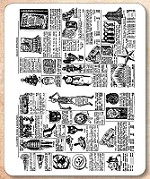 Stamper's Anonymous / Tim Holtz - Cling Mounted Rubber Stamp Set - Seasonal Catalog 1
