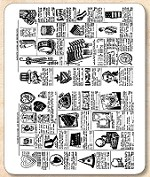 Stamper's Anonymous / Tim Holtz - Cling Mounted Rubber Stamp Set - Seasonal Catalog 2