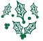 Sue Wilson Designs - Die - Festive Collection - Filigree Holly