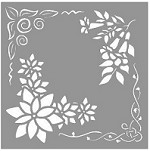 Creative Expressions - Stencil (6x6) - Floral Elements